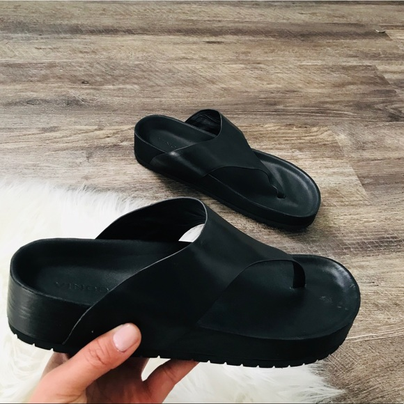 Vince Shoes | Vince Padma Leather Thong